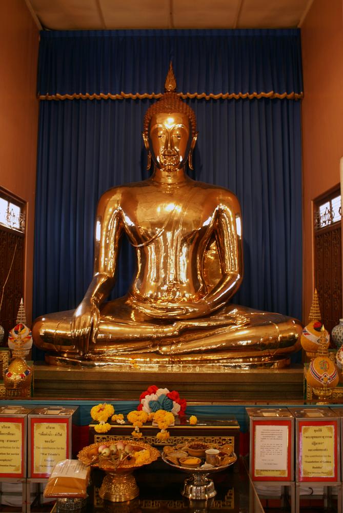 Golden Buddha at Wat Traimit Bangkok