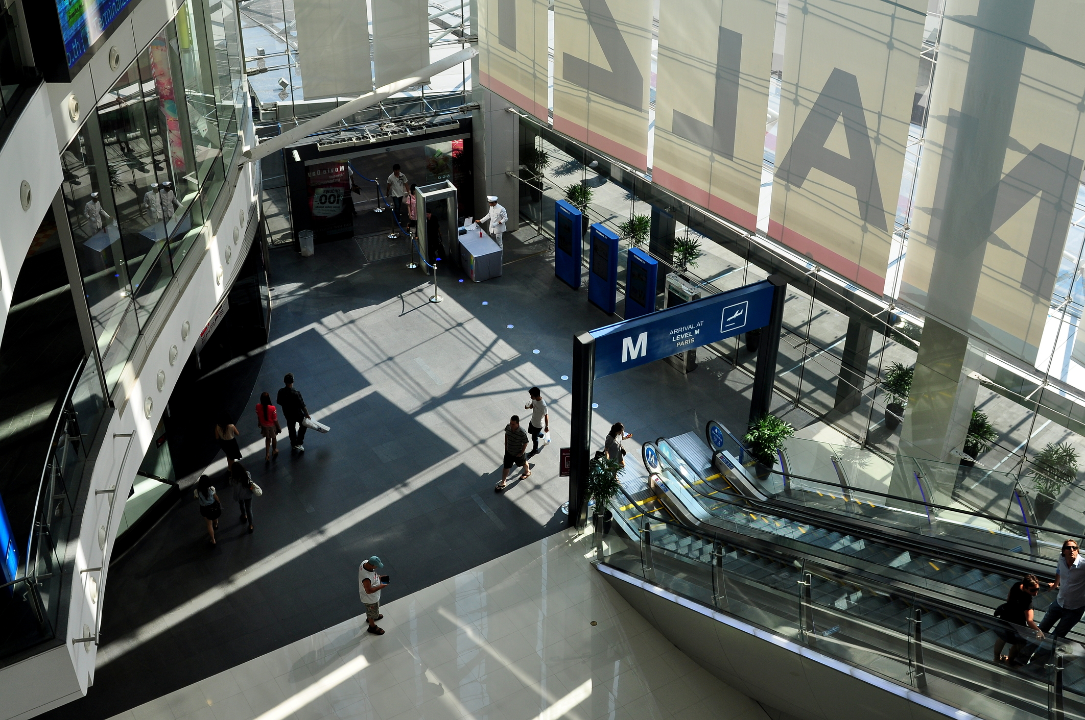 The Airport themed Terminal 21 Shopping Mall in Bangkok