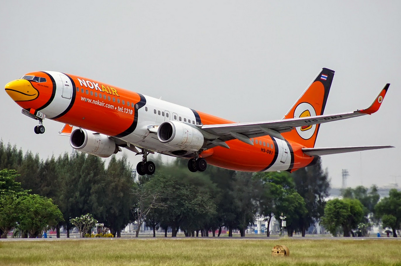 "Nok Air Boeing 737 in ""Nemo"" Livery"