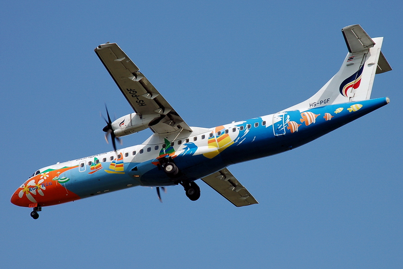 A Bangkok Airways ATR72