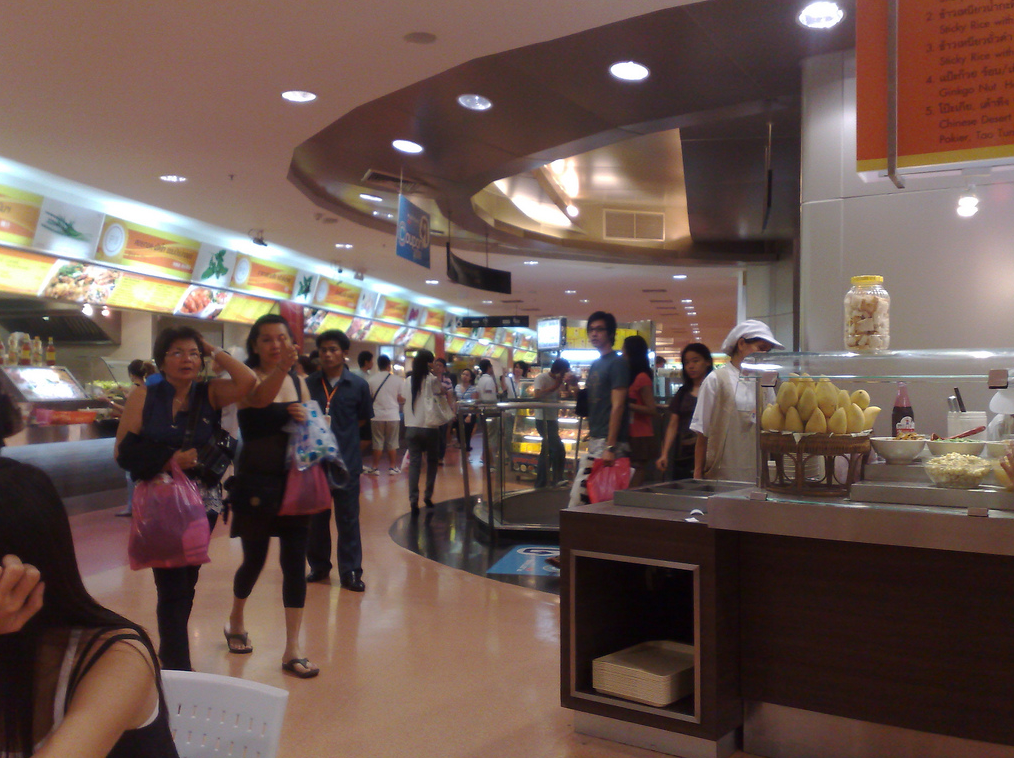 Food Court on 6th Floor at Platinum Fashion Mall